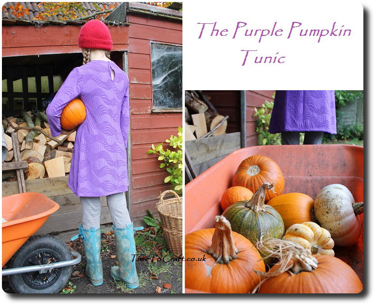 Purple tunic Simplicity 2156