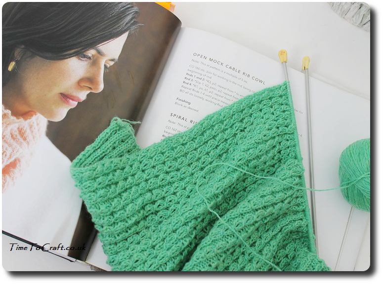 cashmere hand knitted cowl and more last minute knittted gifts book