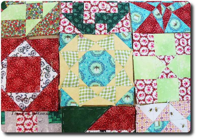 quilt blocks Dear Daughter Farmers wife letters