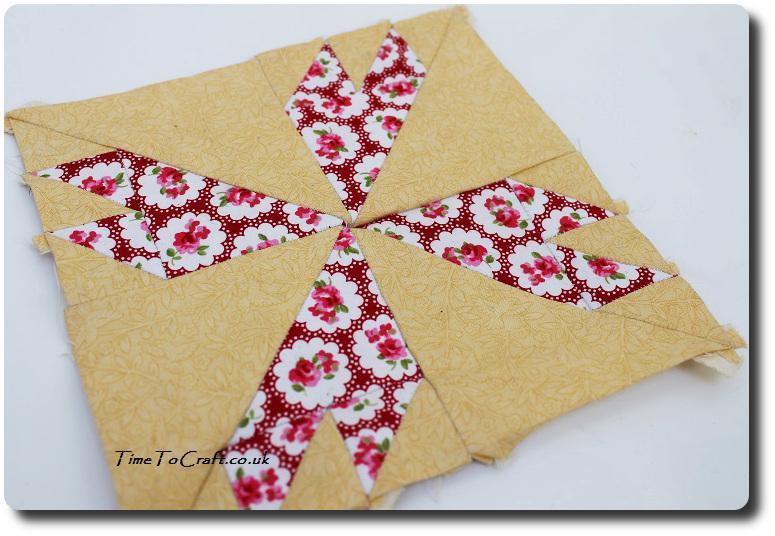 No 75 Rosebud Farmer's Wife sampler Quilt letter