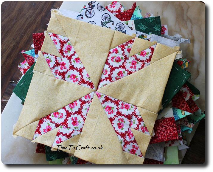 No 75 Rosebud Farmer's Wife sampler Quilt with other blocks