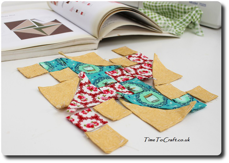 english paper piecing quilt block