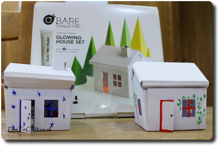 glowing house set finished box STEM
