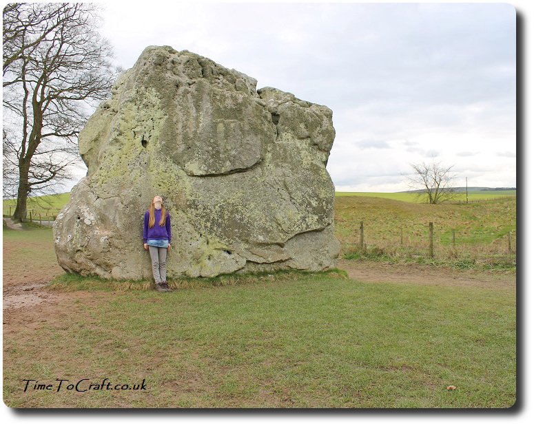 Avebury communing with the stones