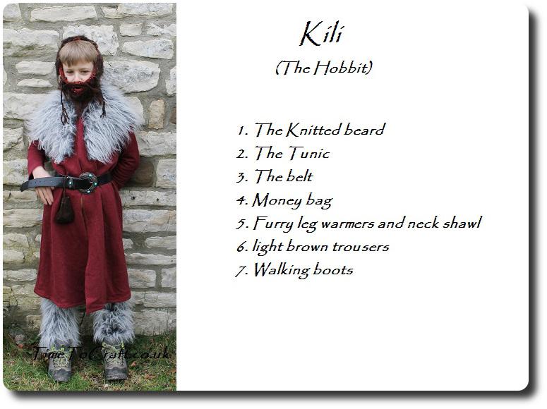 Kili in the Hobbit costume