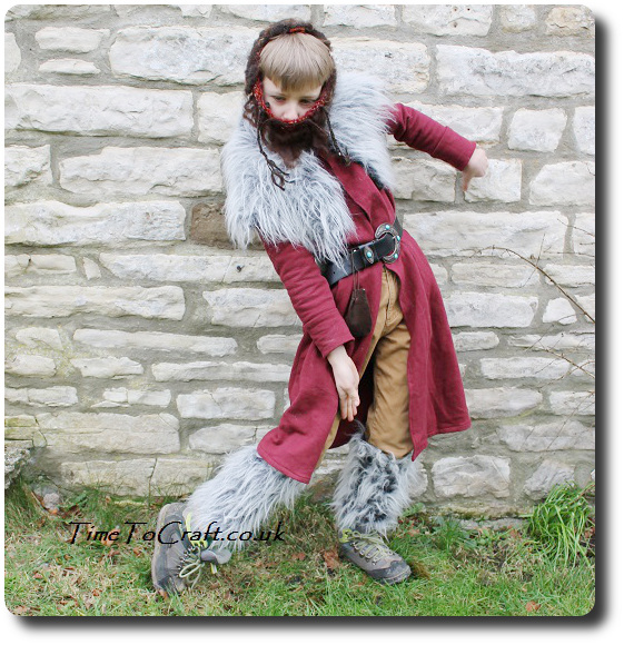 Kili the dwarf in the Hobbit costume
