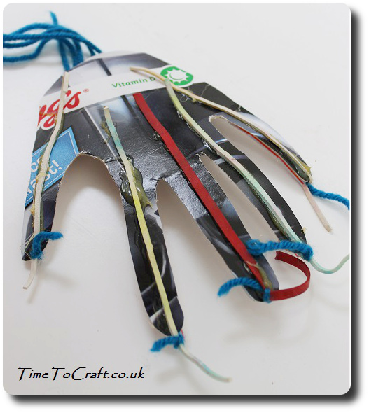 back of the articulated hand Amazing magazine