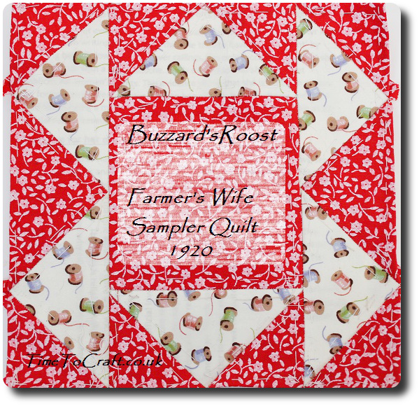 buzzard roost Farmers wife quilt dear daughter