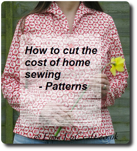 cutting the cost of home sewing dressmaking patterns