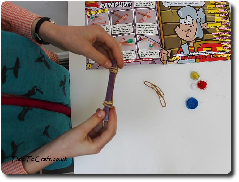 stem activity making a catapult amazing magazine