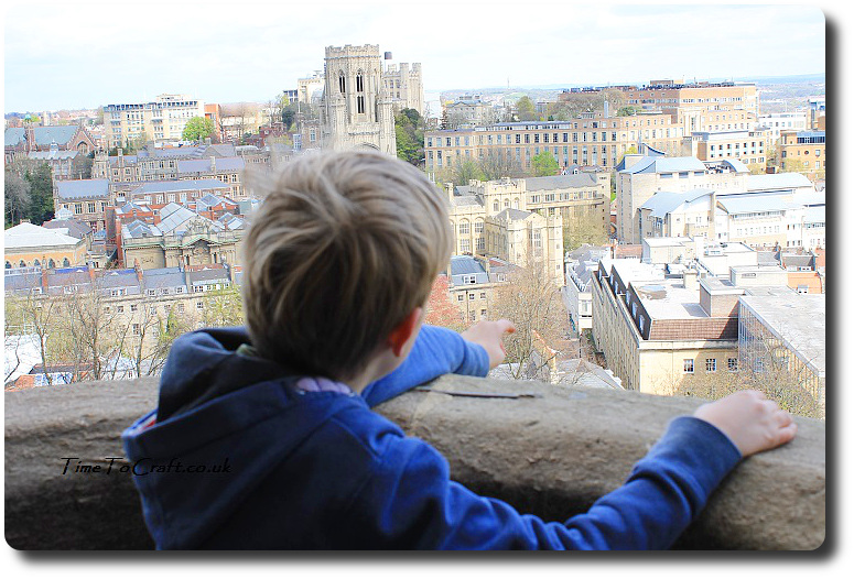 view of Bristol from Cabot's Tower