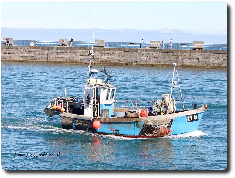 fishing boat at Weymouth