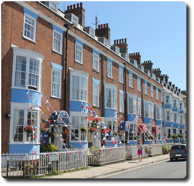 weymouth terrace and buntings
