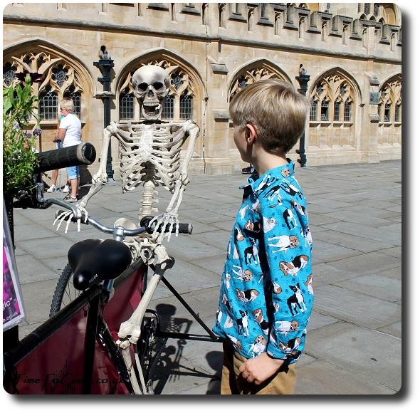 Simplicity 4760 boys shirt with skeleton