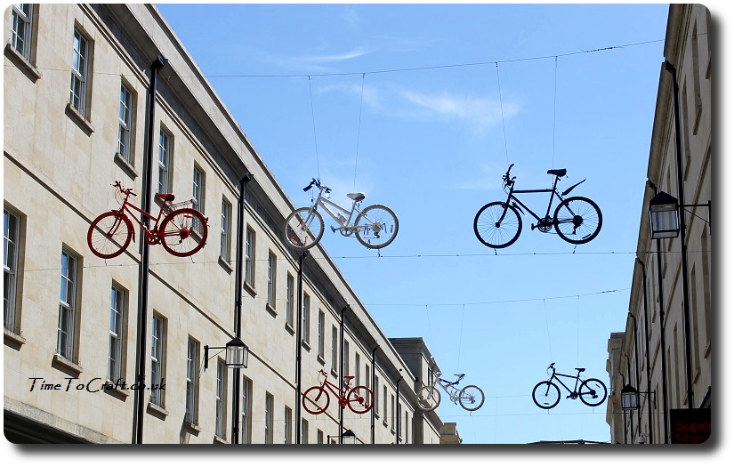 flying bikes in Bath