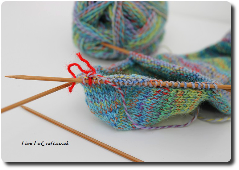 easy knitting socks