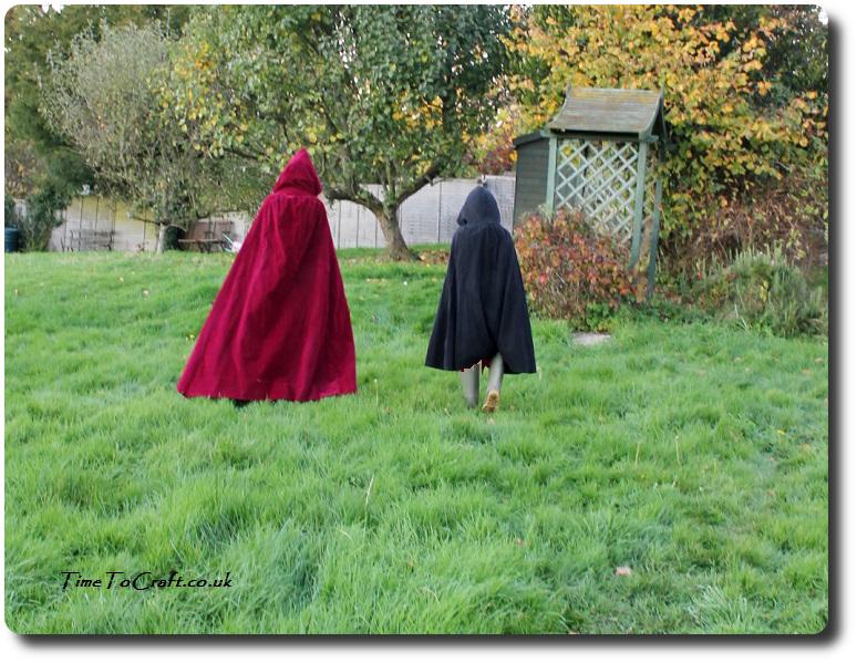 cloaks-walking-away