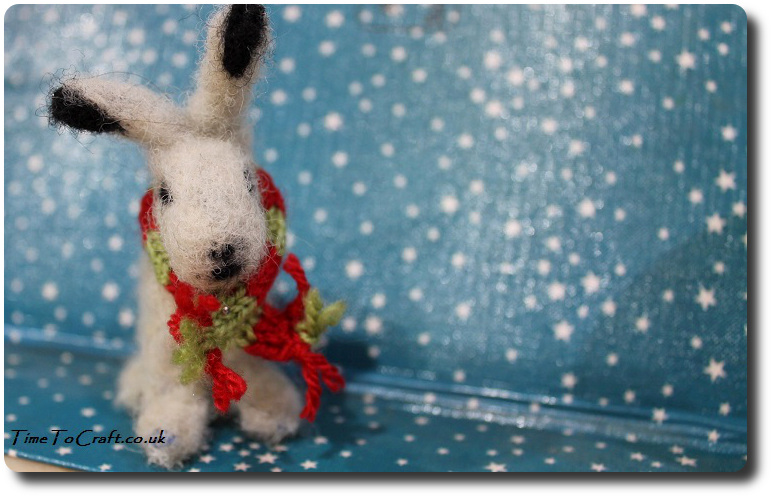 needle-felted-snow-hare
